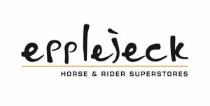 Epplejeck Logo zwarte letters_oranje streep