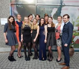 Het Nederlandse Team inclusief supporters tijdens het Gala